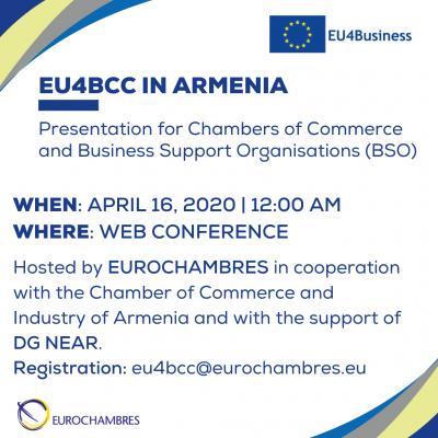 200416 - Event EU4BCC in Armenia
