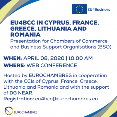 200408 - Event EU4BCC in Cyprus, France, Greece, Lithuania and Romania