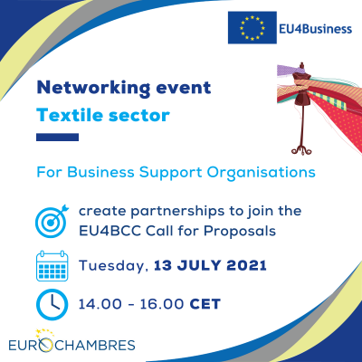 Networking event Textile - 13072021