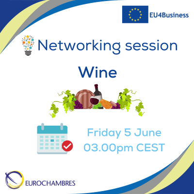 Reminder Networking session - wine