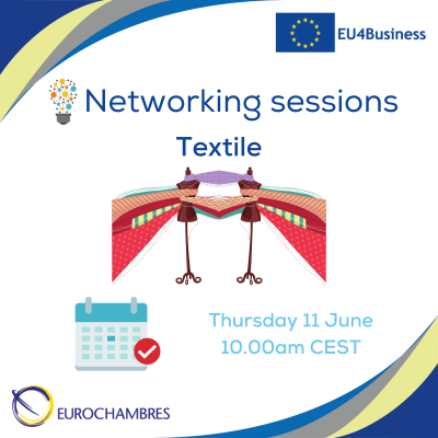 Reminder Networking sessions - textile